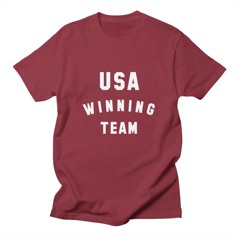 USA WINNING TEAM Women's Unisex T-Shirt by USA WINNING TEAM™