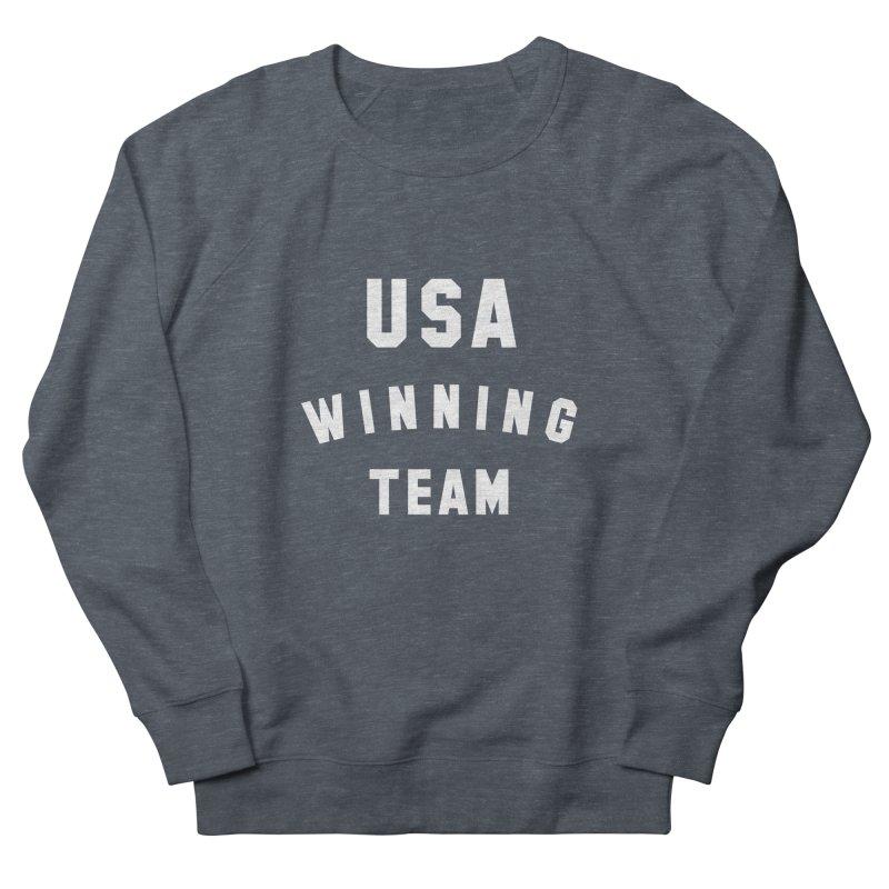 USA WINNING TEAM Men's French Terry Sweatshirt by USA WINNING TEAM™