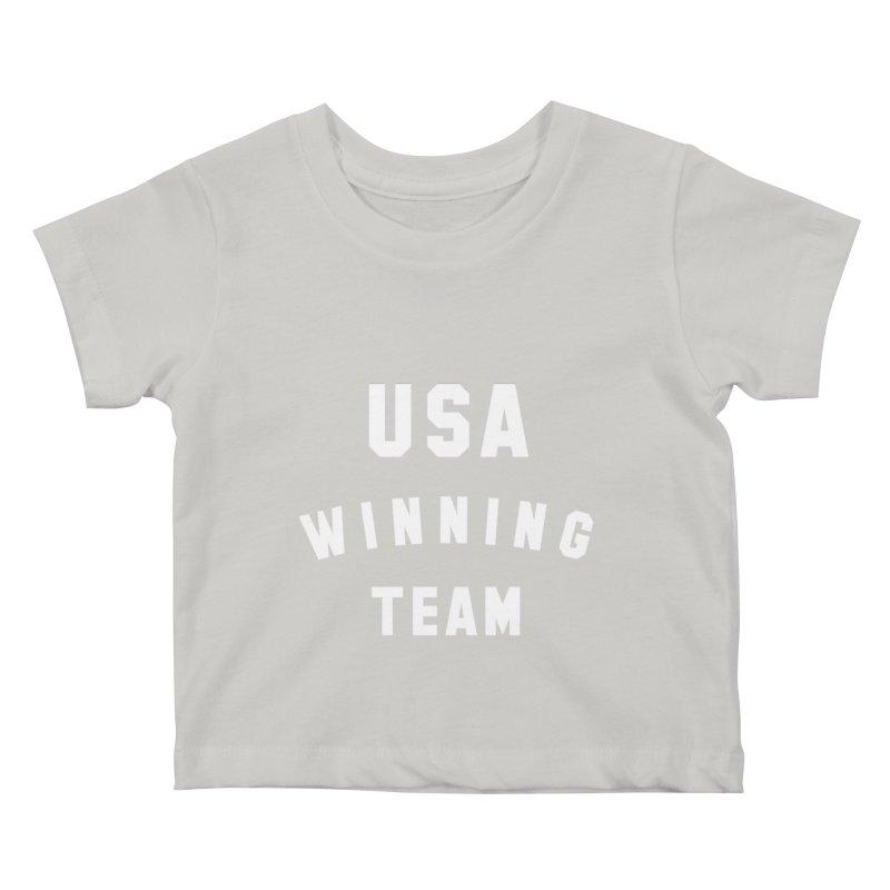 USA WINNING TEAM Kids Baby T-Shirt by USA WINNING TEAM™