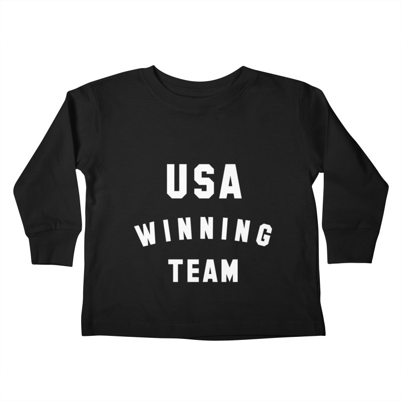 USA WINNING TEAM Kids Toddler Longsleeve T-Shirt by USA WINNING TEAM™