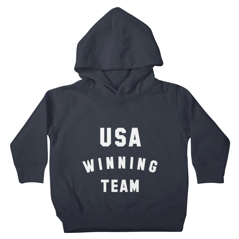 USA WINNING TEAM Kids Toddler Pullover Hoody by USA WINNING TEAM™