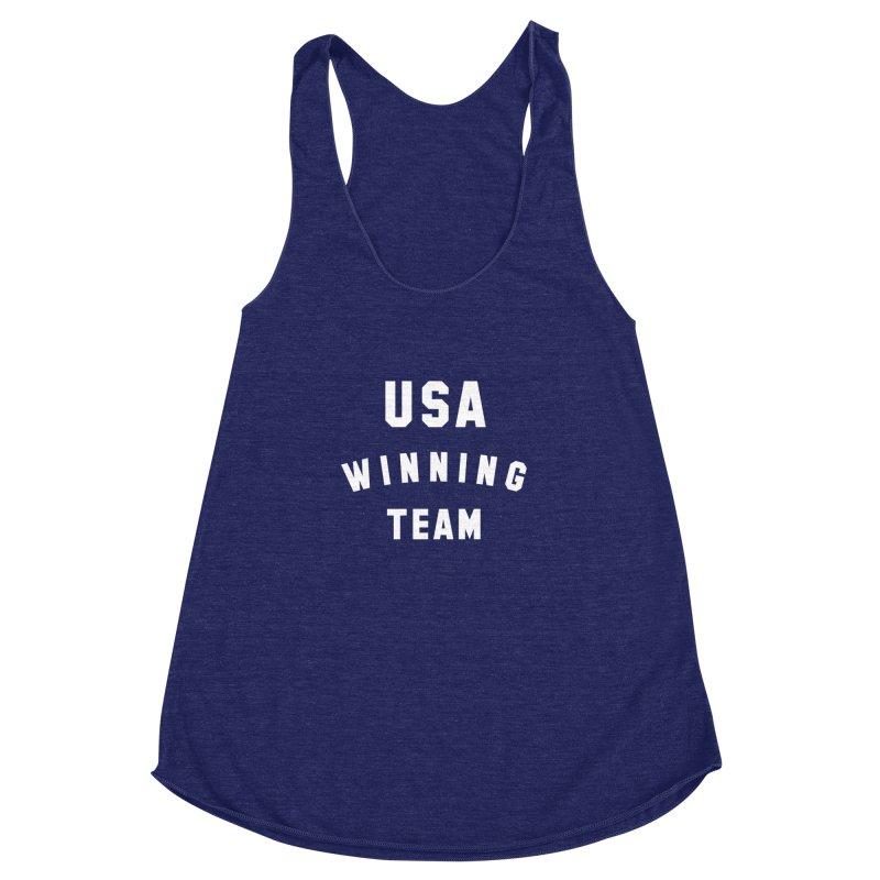 USA WINNING TEAM Women's Racerback Triblend Tank by USA WINNING TEAM™