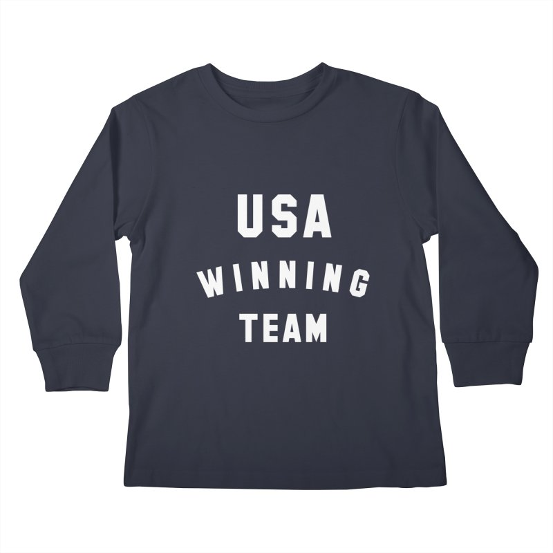 USA WINNING TEAM Kids Longsleeve T-Shirt by USA WINNING TEAM™