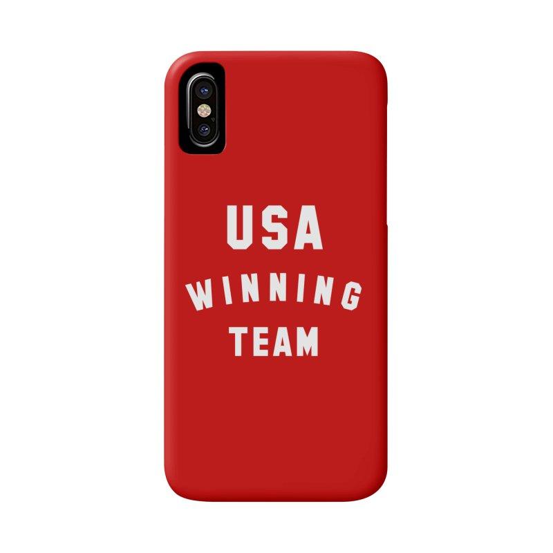 USA WINNING TEAM Accessories Phone Case by USA WINNING TEAM™