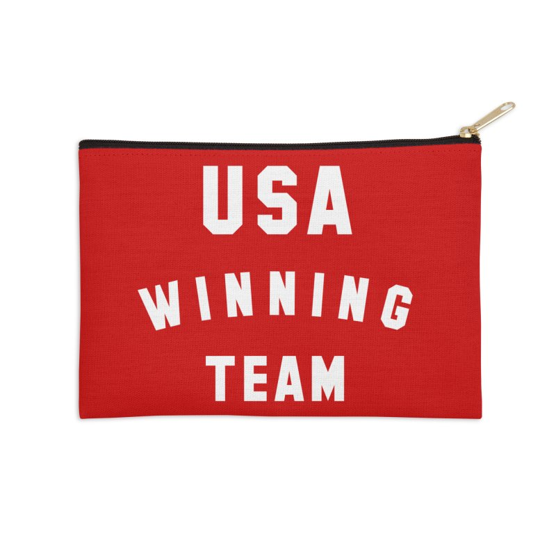 USA WINNING TEAM Accessories Zip Pouch by USA WINNING TEAM™