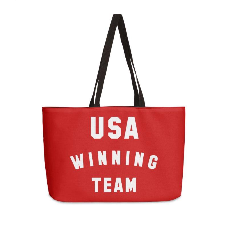 USA WINNING TEAM Accessories Weekender Bag Bag by USA WINNING TEAM™