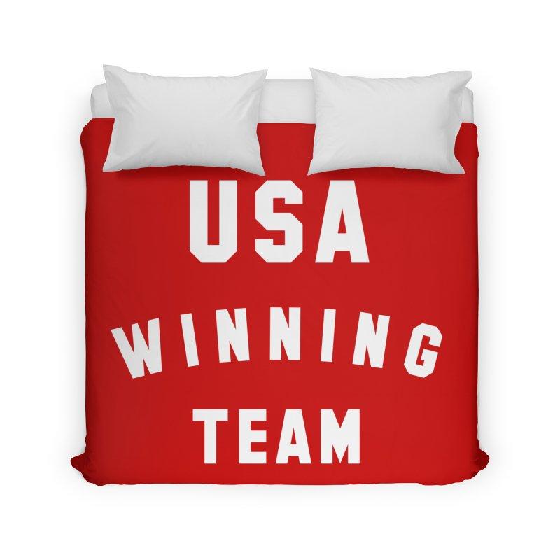 USA WINNING TEAM Home Duvet by USA WINNING TEAM™