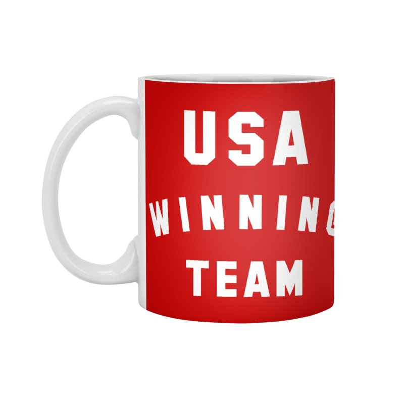 USA WINNING TEAM Accessories Standard Mug by USA WINNING TEAM™