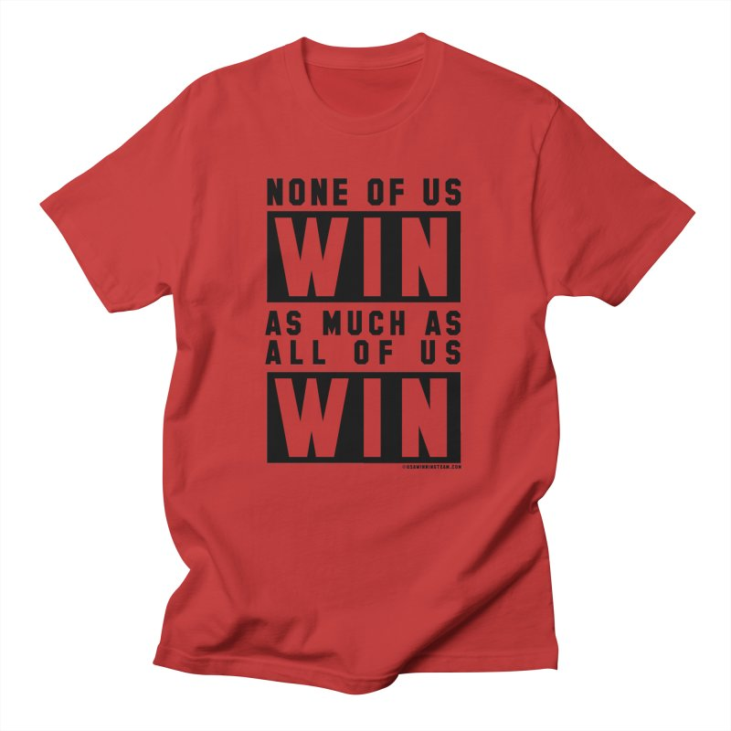 ALL OF US WIN Men's T-Shirt by USA WINNING TEAM™