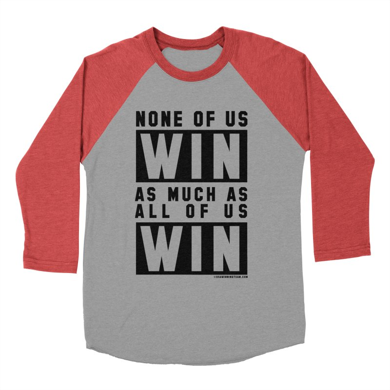 ALL OF US WIN Men's Longsleeve T-Shirt by USA WINNING TEAM™