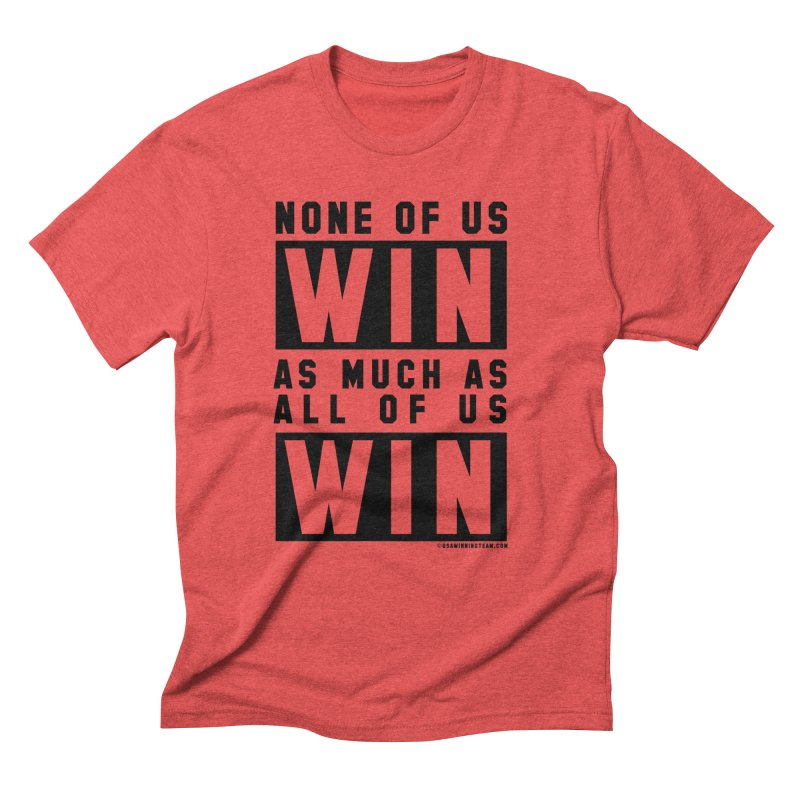 ALL OF US WIN Men's T-Shirt by USA WINNING TEAM™