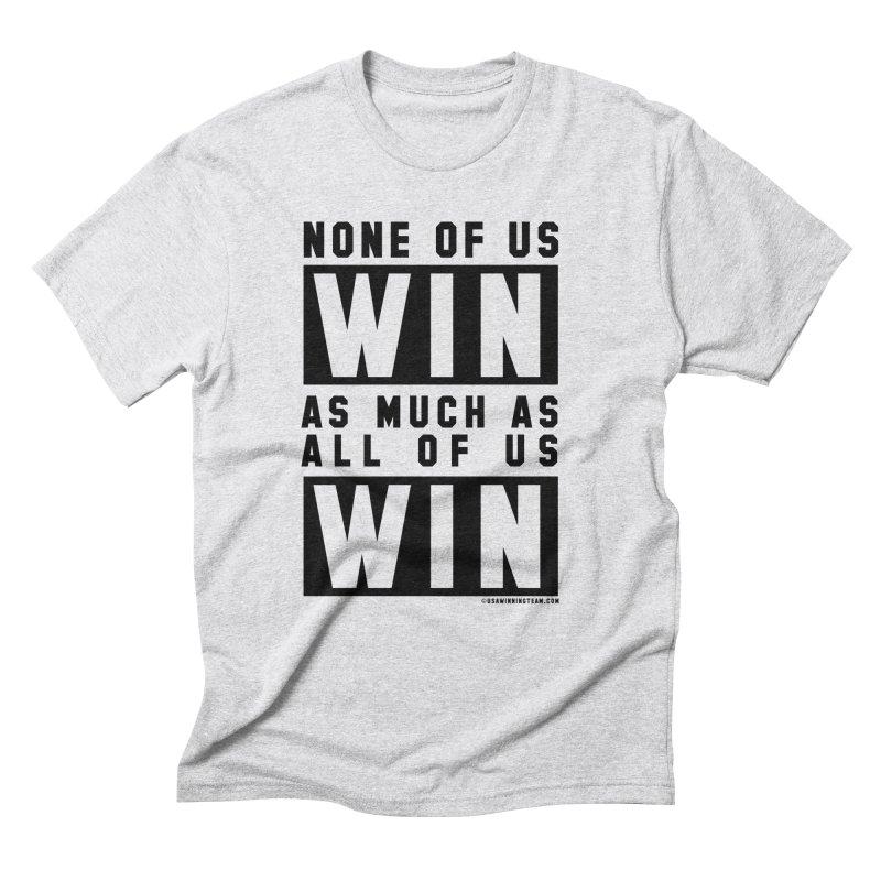 ALL OF US WIN Men's Triblend T-Shirt by USA WINNING TEAM™