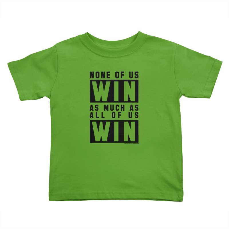 ALL OF US WIN Kids Toddler T-Shirt by USA WINNING TEAM™
