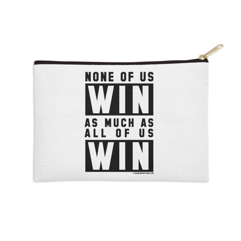 ALL OF US WIN Accessories Zip Pouch by USA WINNING TEAM™