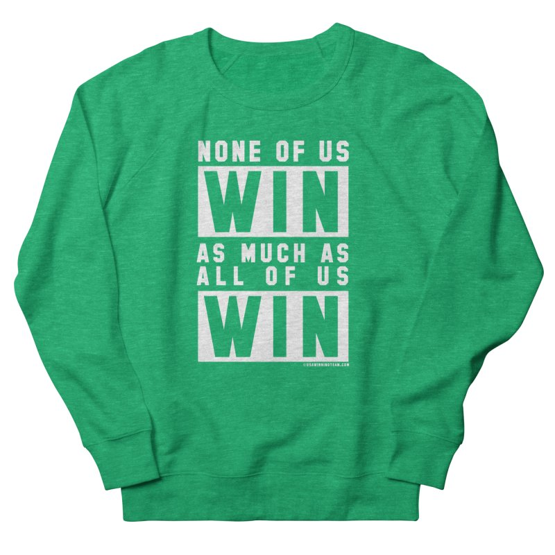 ALL OF US WIN Women's Sweatshirt by USA WINNING TEAM™