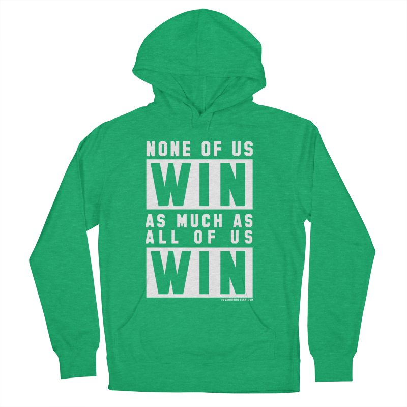 ALL OF US WIN Women's French Terry Pullover Hoody by USA WINNING TEAM™