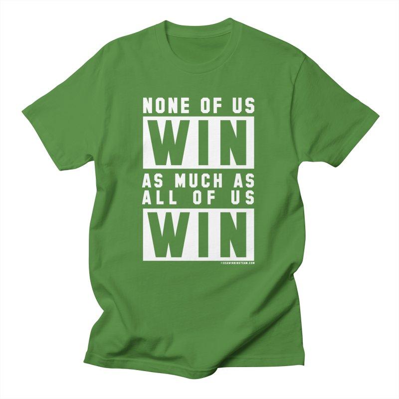 ALL OF US WIN Men's Regular T-Shirt by USA WINNING TEAM™