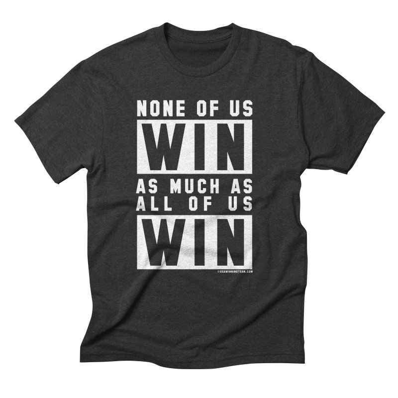 ALL OF US WIN Men's Triblend T-Shirt by USA WINNING TEAM™