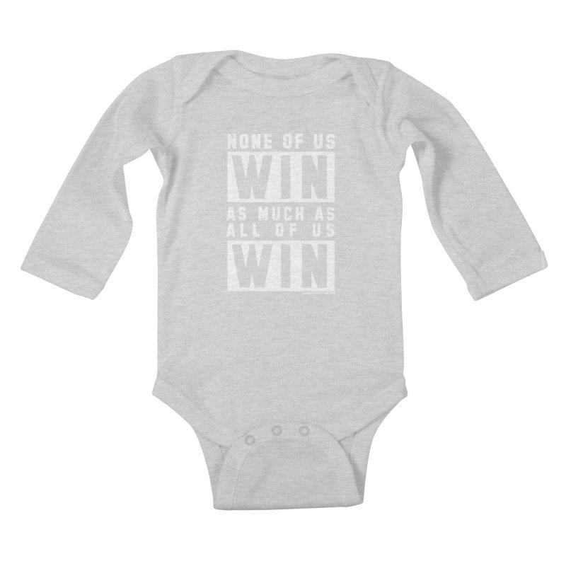 ALL OF US WIN Kids Baby Longsleeve Bodysuit by USA WINNING TEAM™