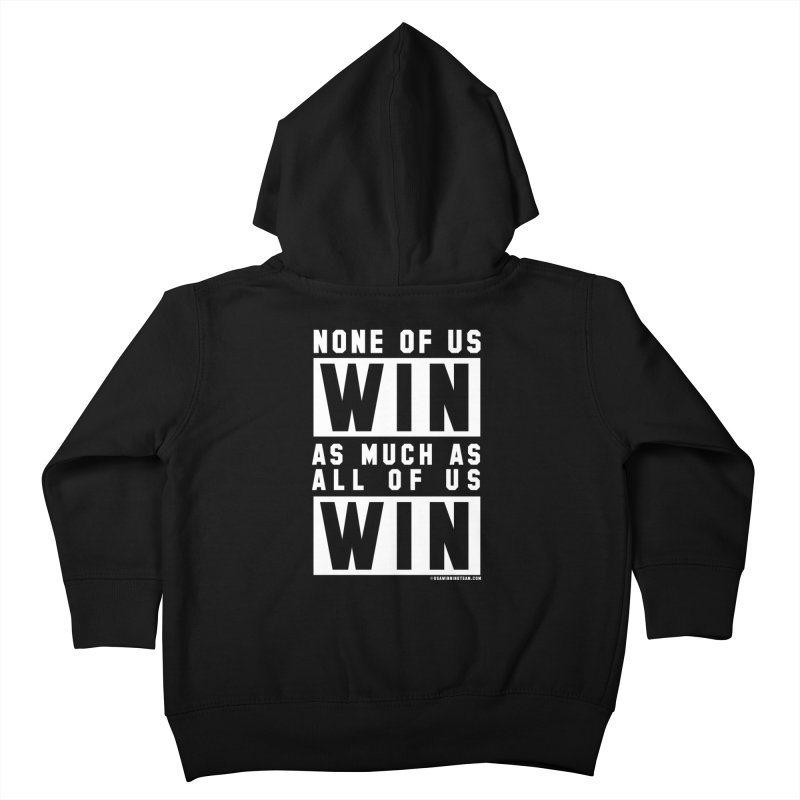 ALL OF US WIN Kids Toddler Zip-Up Hoody by USA WINNING TEAM™