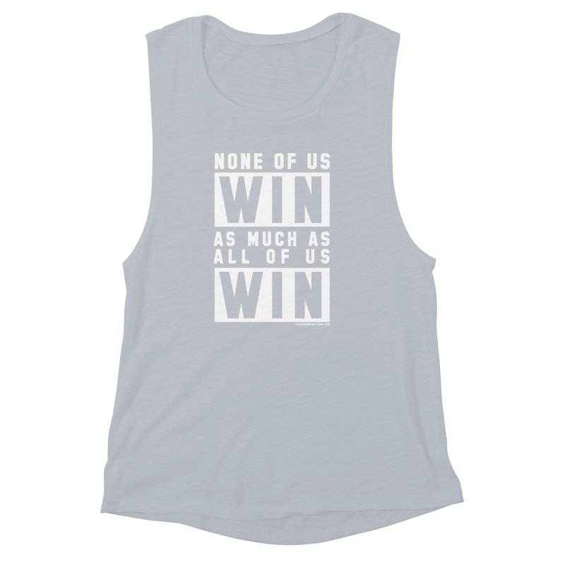 ALL OF US WIN Women's Muscle Tank by USA WINNING TEAM™