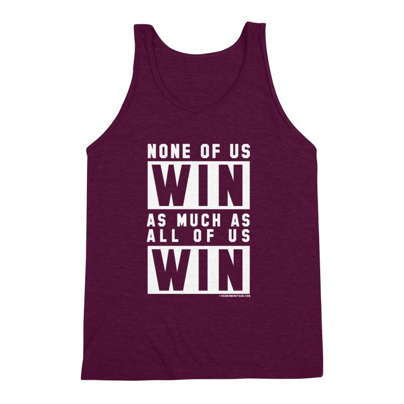 ALL OF US WIN Men's Triblend Tank by USA WINNING TEAM™