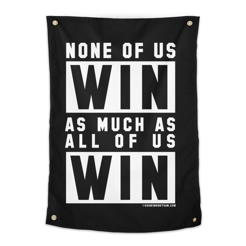 ALL OF US WIN Home Tapestry by USA WINNING TEAM™