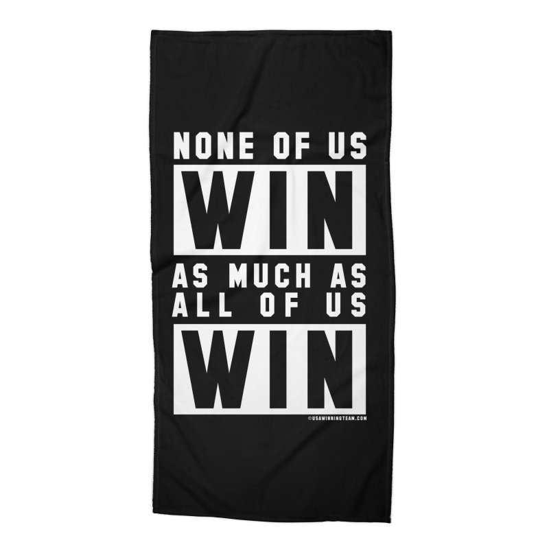 ALL OF US WIN Accessories Beach Towel by USA WINNING TEAM™