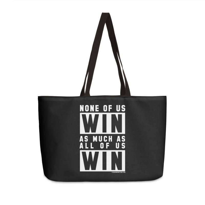 ALL OF US WIN Accessories Weekender Bag Bag by USA WINNING TEAM™