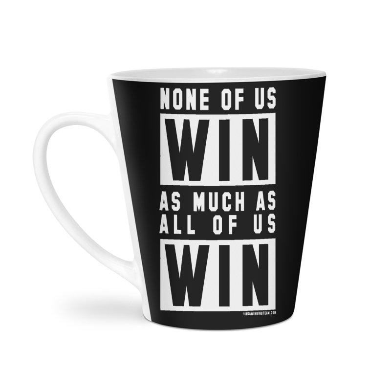 ALL OF US WIN Accessories Latte Mug by USA WINNING TEAM™