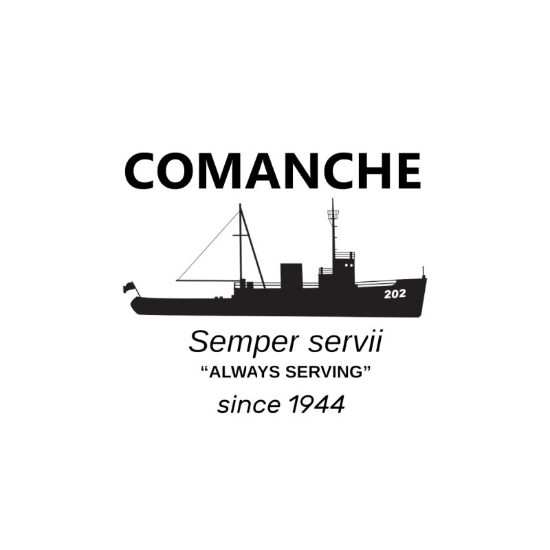 Semper servii Accessories Sticker by USCG Comanche's Shop