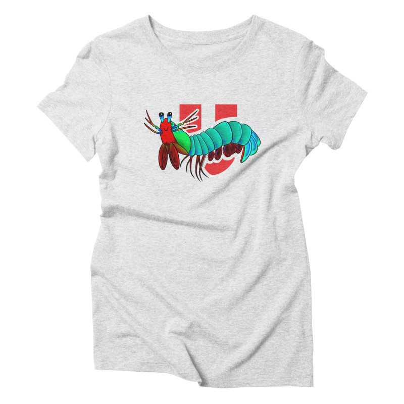 Mantis shrimp tee Women's T-Shirt by u.school Mantis Shrimp Artist Shop