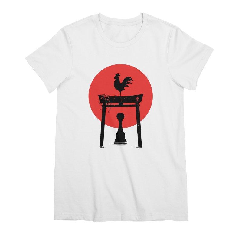 Galo Japonês Women's T-Shirt by useartillero