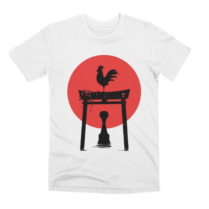 Galo Japonês Men's T-Shirt by useartillero