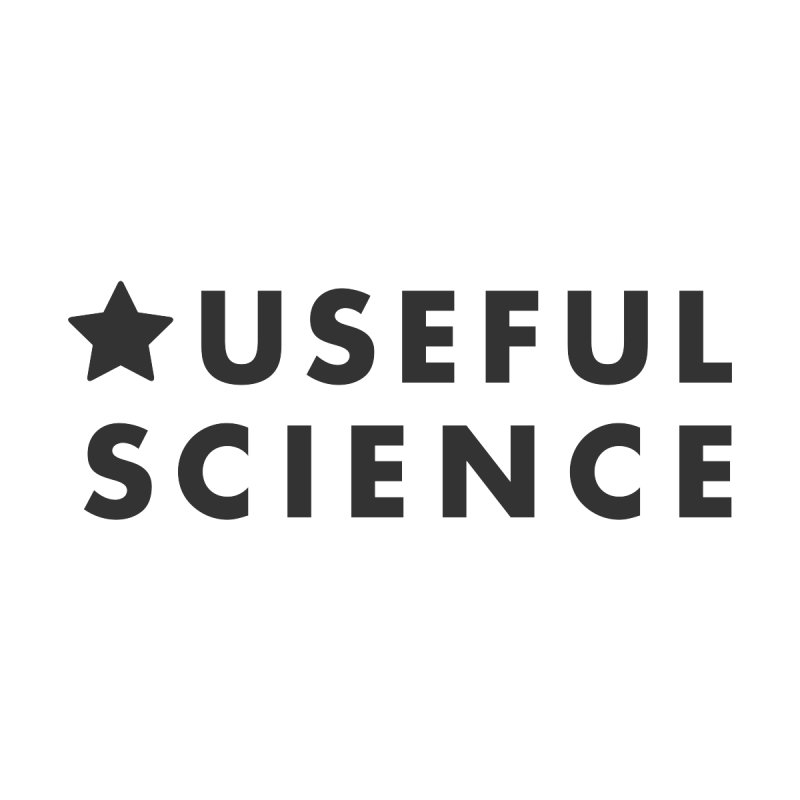 Useful Science Logo for mug by Useful Science's Shop