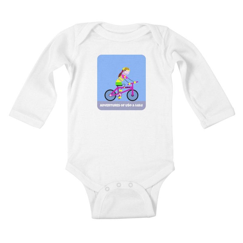 Free Parking Kids Baby Longsleeve Bodysuit by usomic's Artist Shop