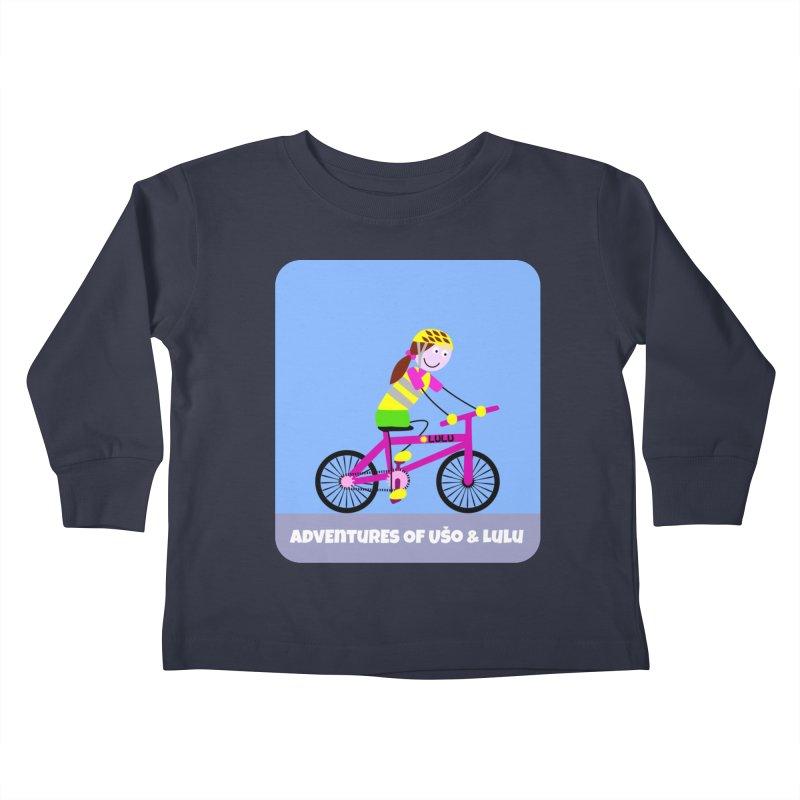 Free Parking Kids Toddler Longsleeve T-Shirt by usomic's Artist Shop