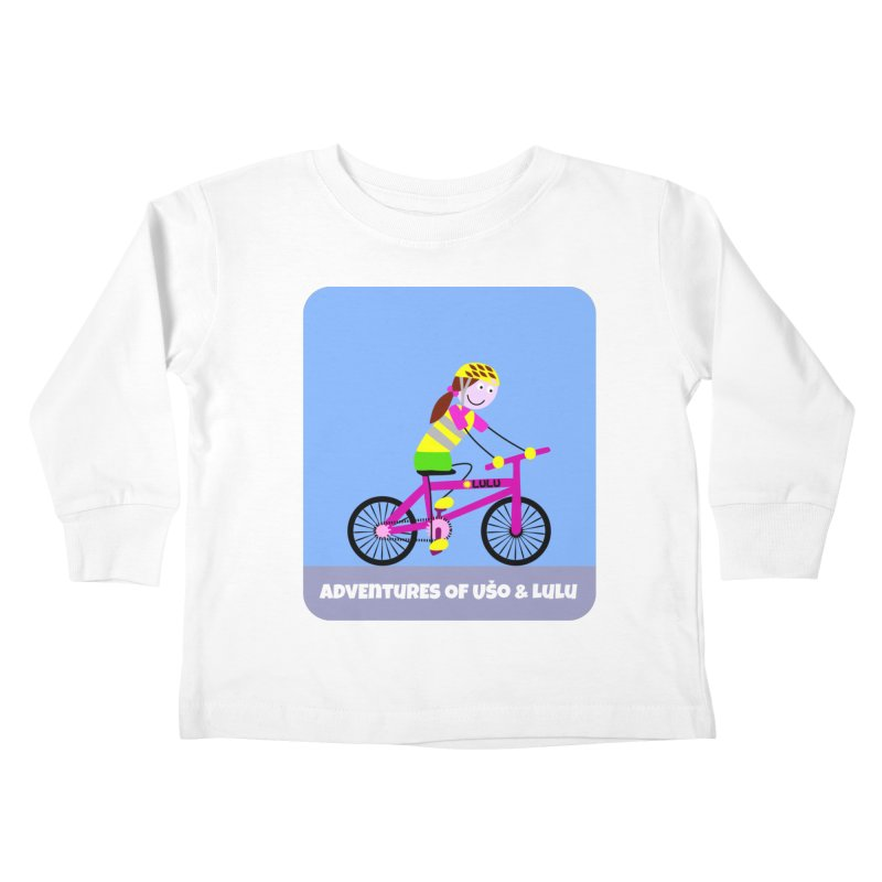Free Parking Kids Toddler Longsleeve T-Shirt by usomic's Artist Shop