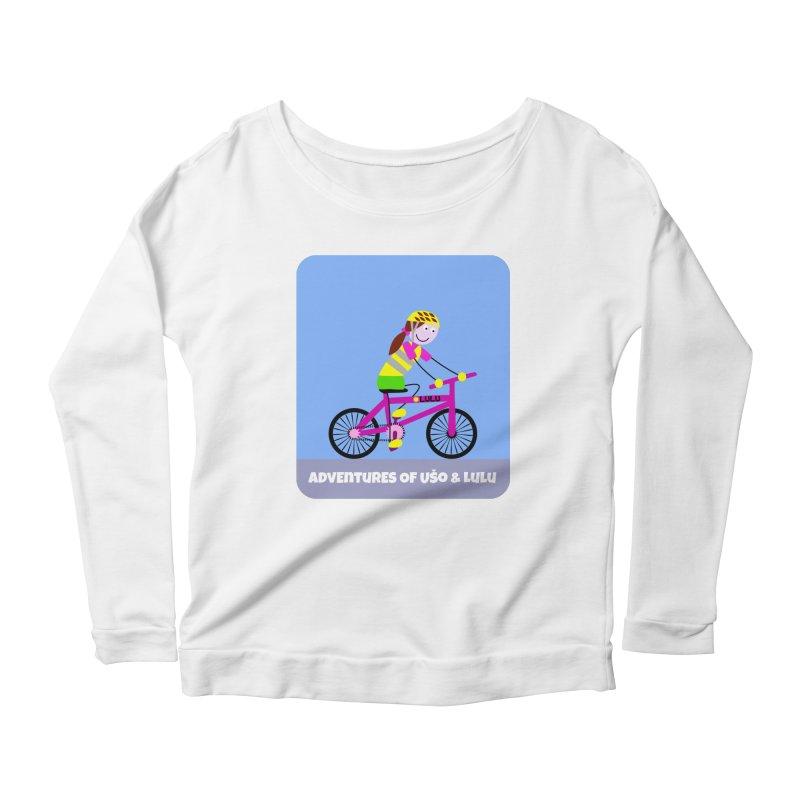 Free Parking Women's Scoop Neck Longsleeve T-Shirt by usomic's Artist Shop