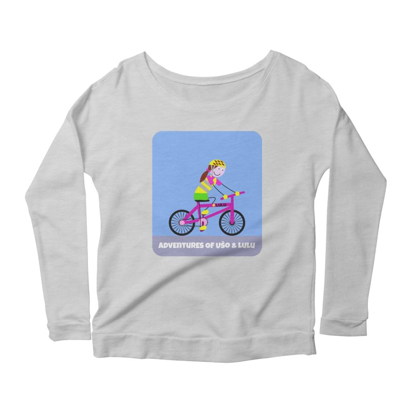 Free Parking Women's Scoop Neck Longsleeve T-Shirt by usomic's Artist Shop