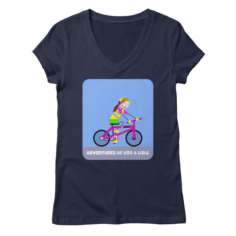 Free Parking Women's Regular V-Neck by usomic's Artist Shop