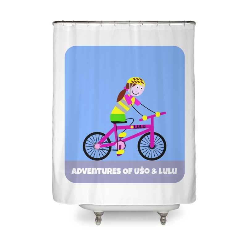 Free Parking Home Shower Curtain by usomic's Artist Shop