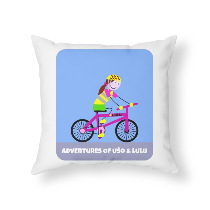 Free Parking Home Throw Pillow by usomic's Artist Shop