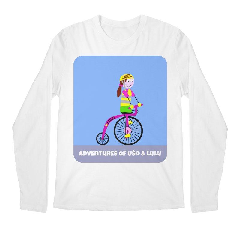 High wheel - Low carbon footprint  Men's Regular Longsleeve T-Shirt by usomic's Artist Shop
