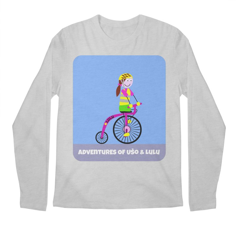 High wheel - Low carbon footprint  Men's Longsleeve T-Shirt by usomic's Artist Shop