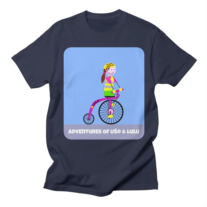 High wheel - Low carbon footprint  Women's Regular Unisex T-Shirt by usomic's Artist Shop
