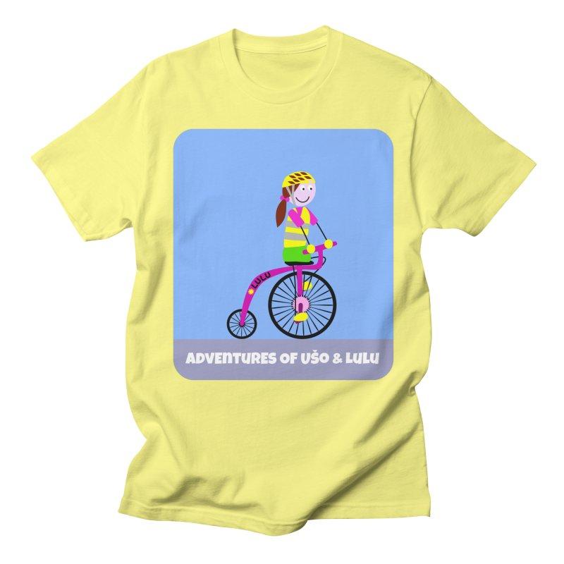 High wheel - Low carbon footprint  Women's Unisex T-Shirt by usomic's Artist Shop