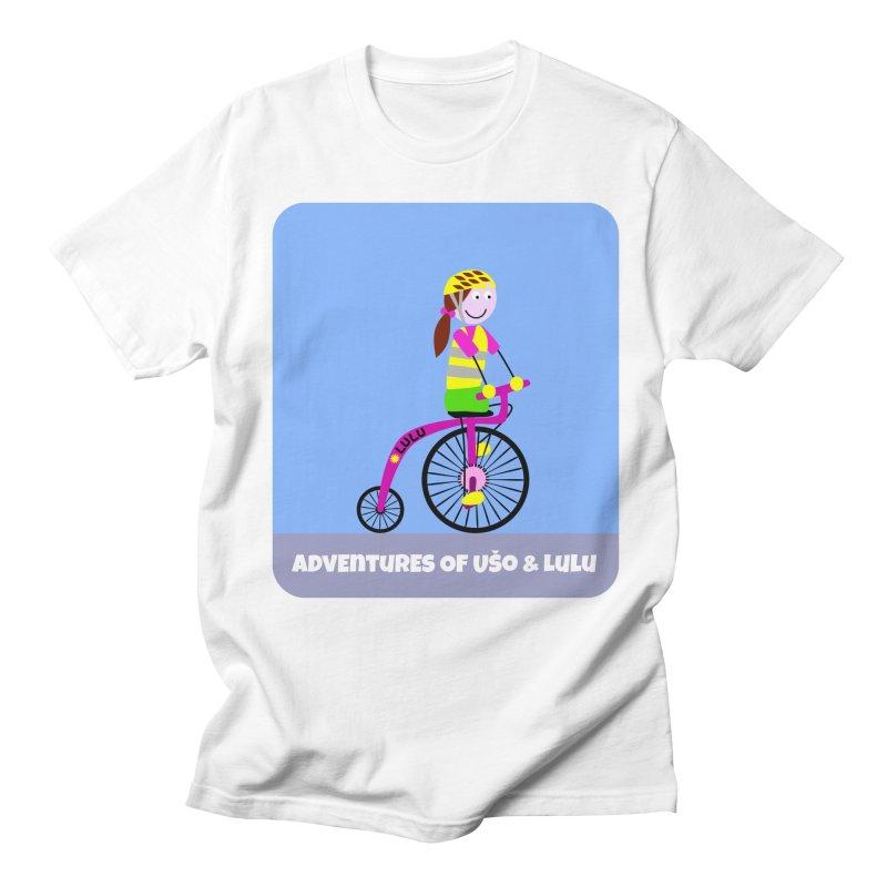High wheel - Low carbon footprint  Men's Regular T-Shirt by usomic's Artist Shop