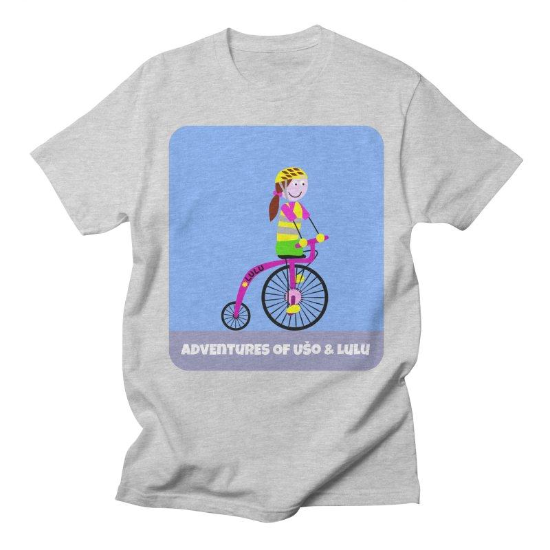High wheel - Low carbon footprint  Women's Regular Unisex T-Shirt by usomic's Artist Shop