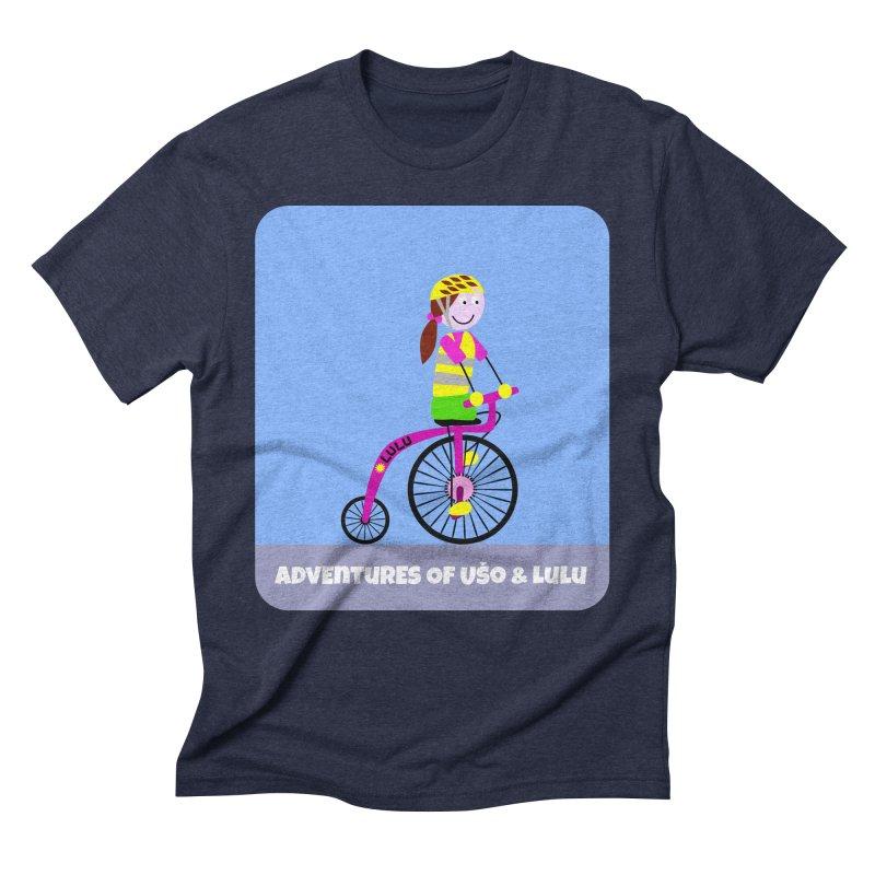 High wheel - Low carbon footprint  Men's Triblend T-Shirt by usomic's Artist Shop
